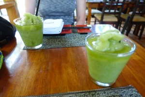 Cold, yummy Mojitos.