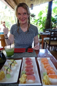 Happy Sushi Girl :)