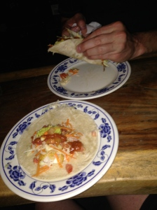 Our Taco's spilleth over with fresh yumminess!